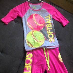 Justice Softball Outfit!